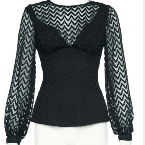 Tops - Xl NWT Lisa Top pinup girl clothing